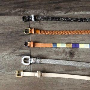 Bundle of Name Brand Belts